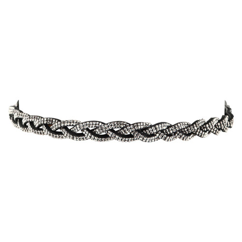 Plait Crystal Browband