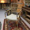 Modern Veranda Rattan and Synthetic Woven Armchair From Indonesia