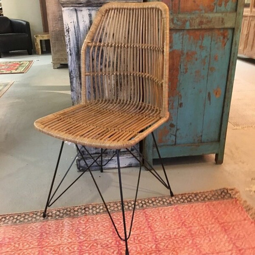 Transitional Louis Rattan Dining From Indonesia
