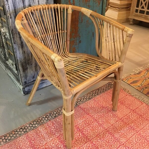 Organic Julia Rattan Armchair From Indonesia