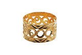 21k Solid Yellow-Gold Ring S7