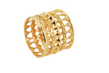 21k Solid Yellow-Gold Ring Size 6