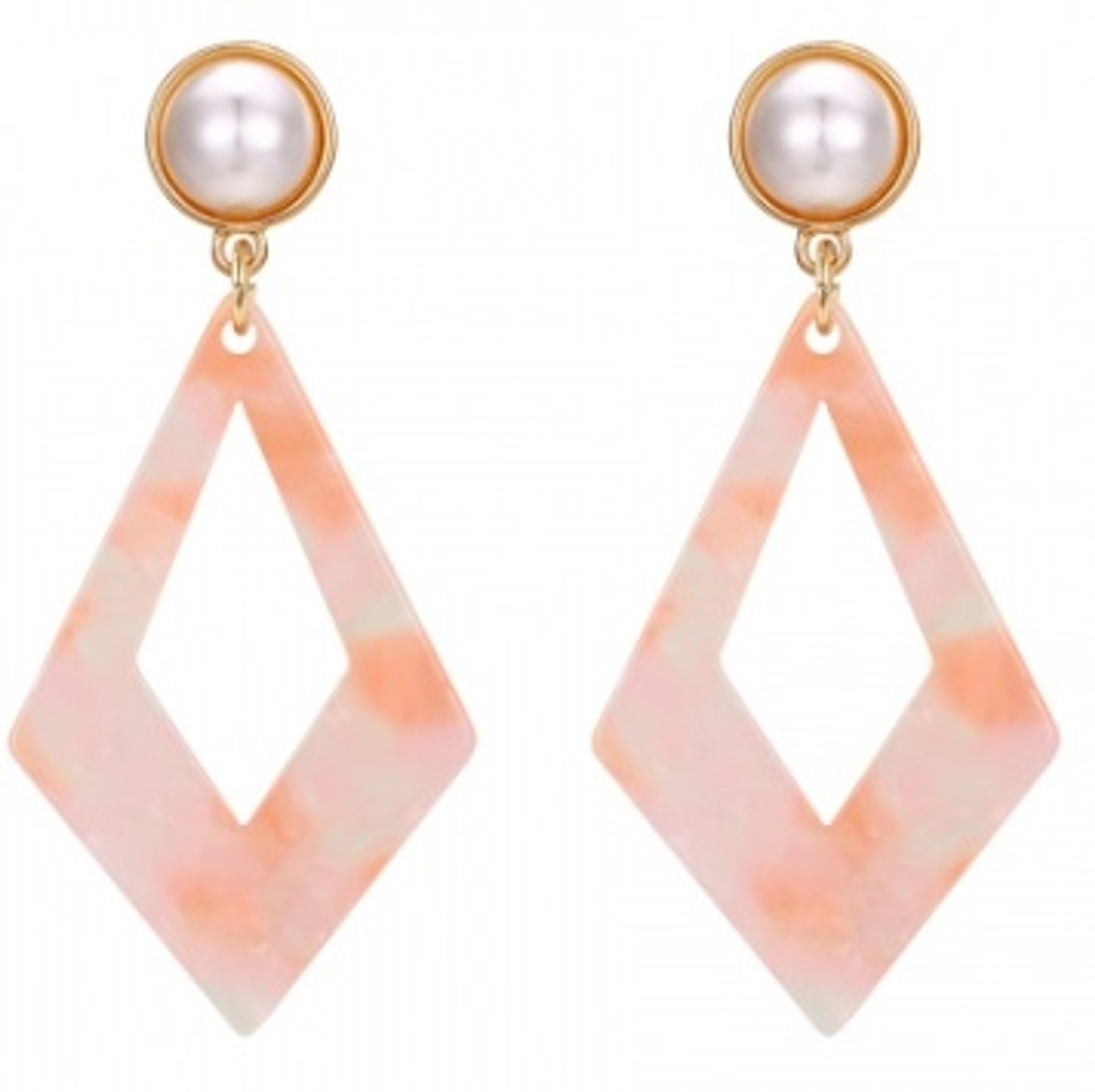 18k Gold-Plated Fashion Earrings