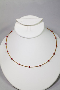 Coral Chain 14k Gold Plated