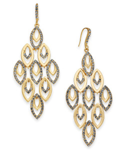 Chandelier Earrings Pavé