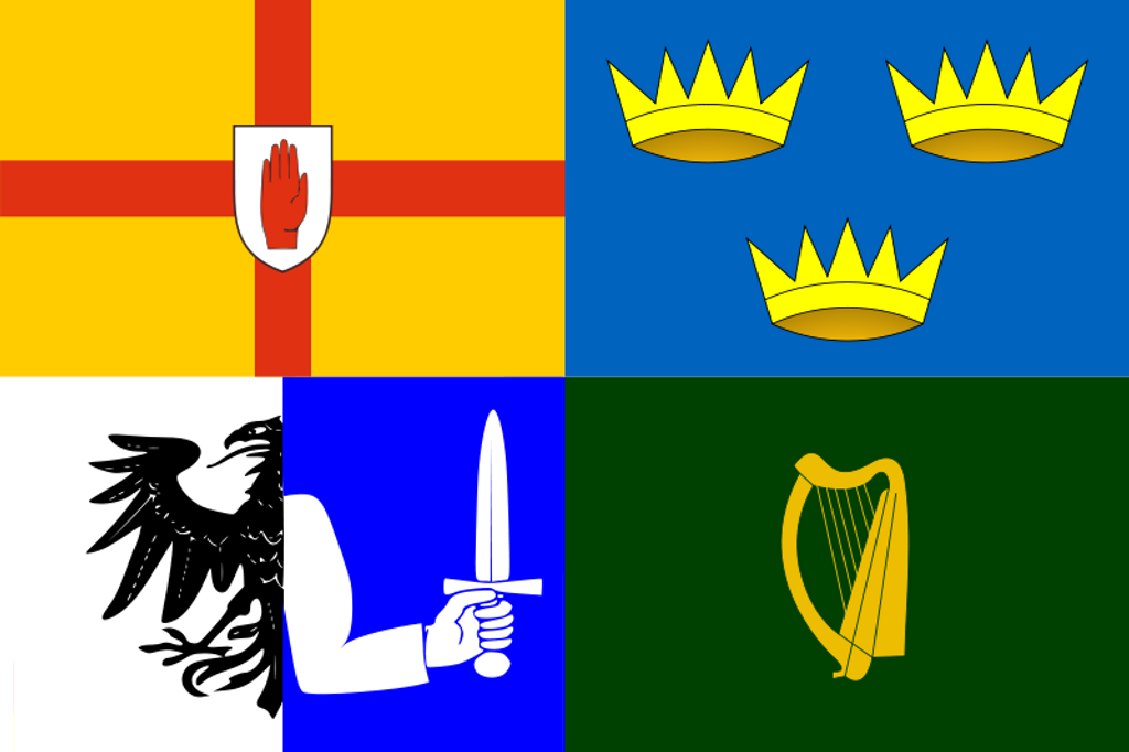 Irish Provinces Flag