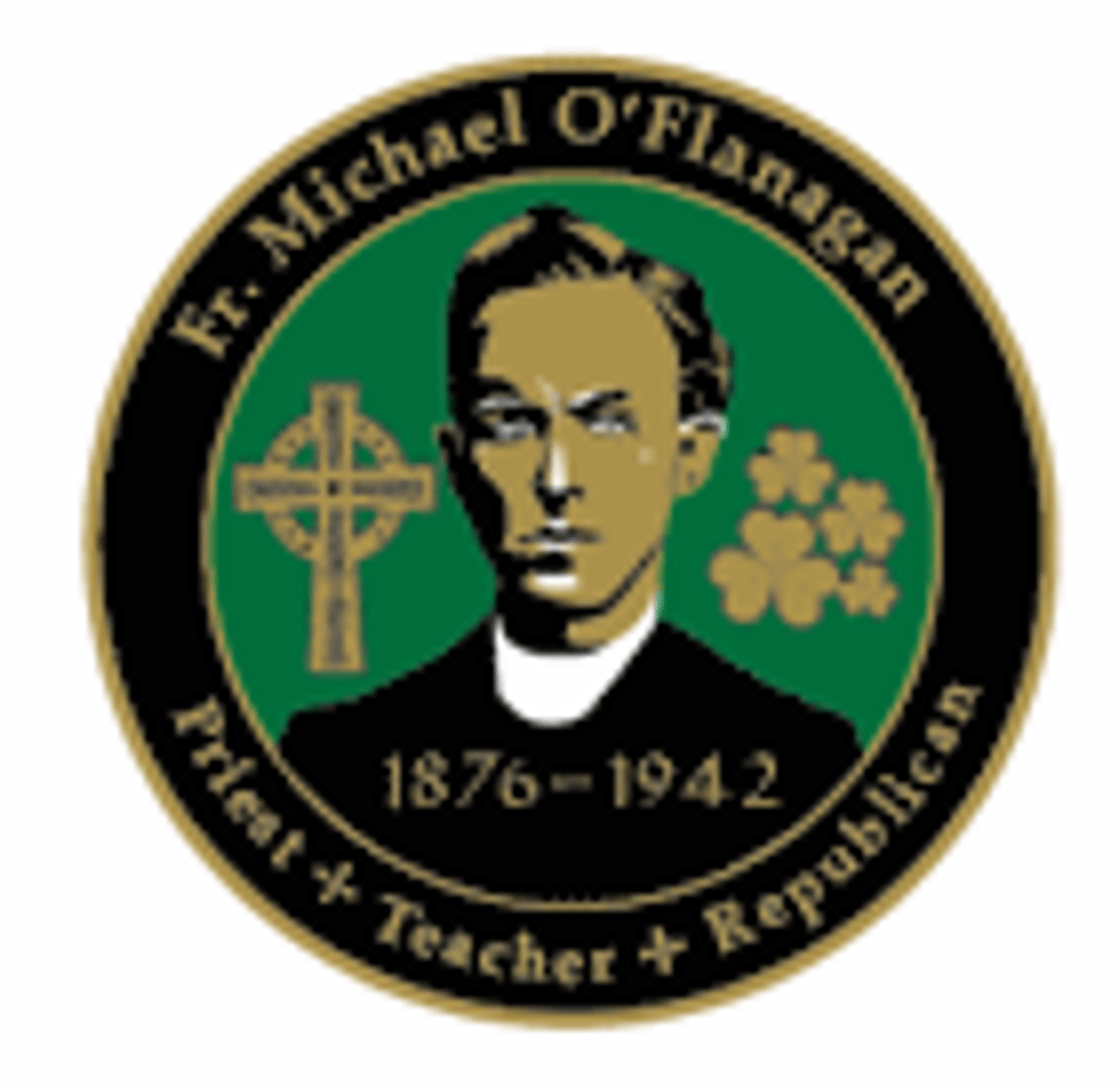 The Rebel Priest' Fr. Michael O'Flanagan Badge