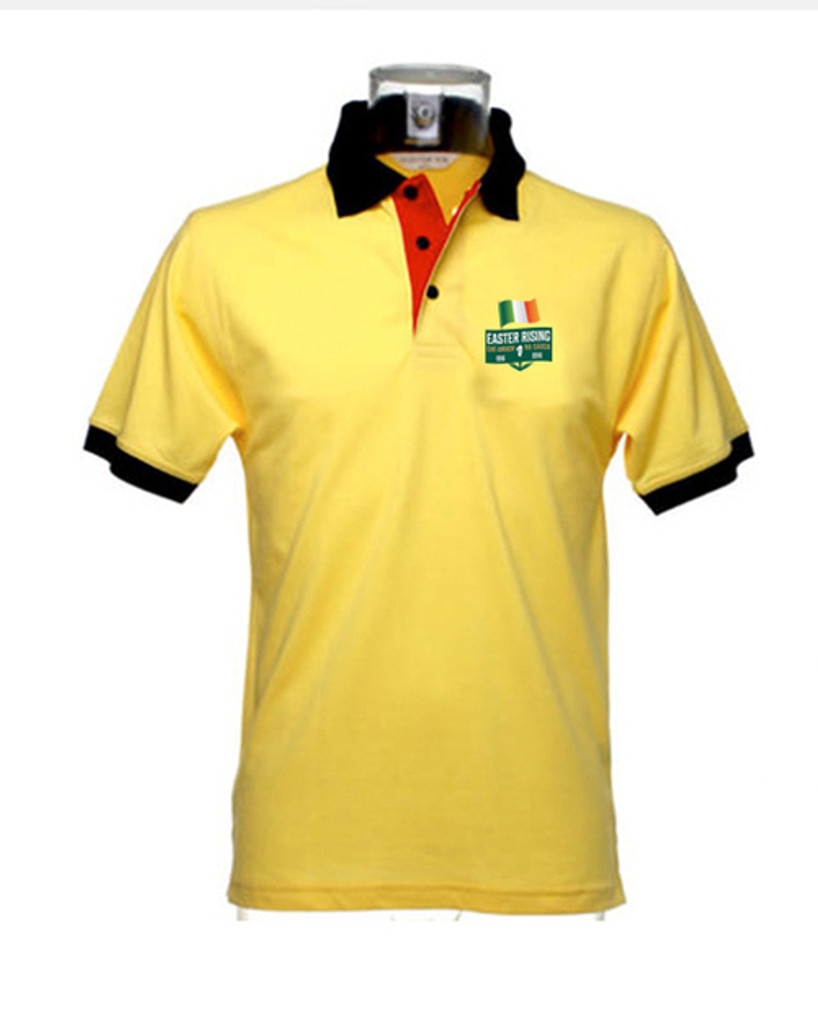 Revolution 1916 Yellow Polo Top