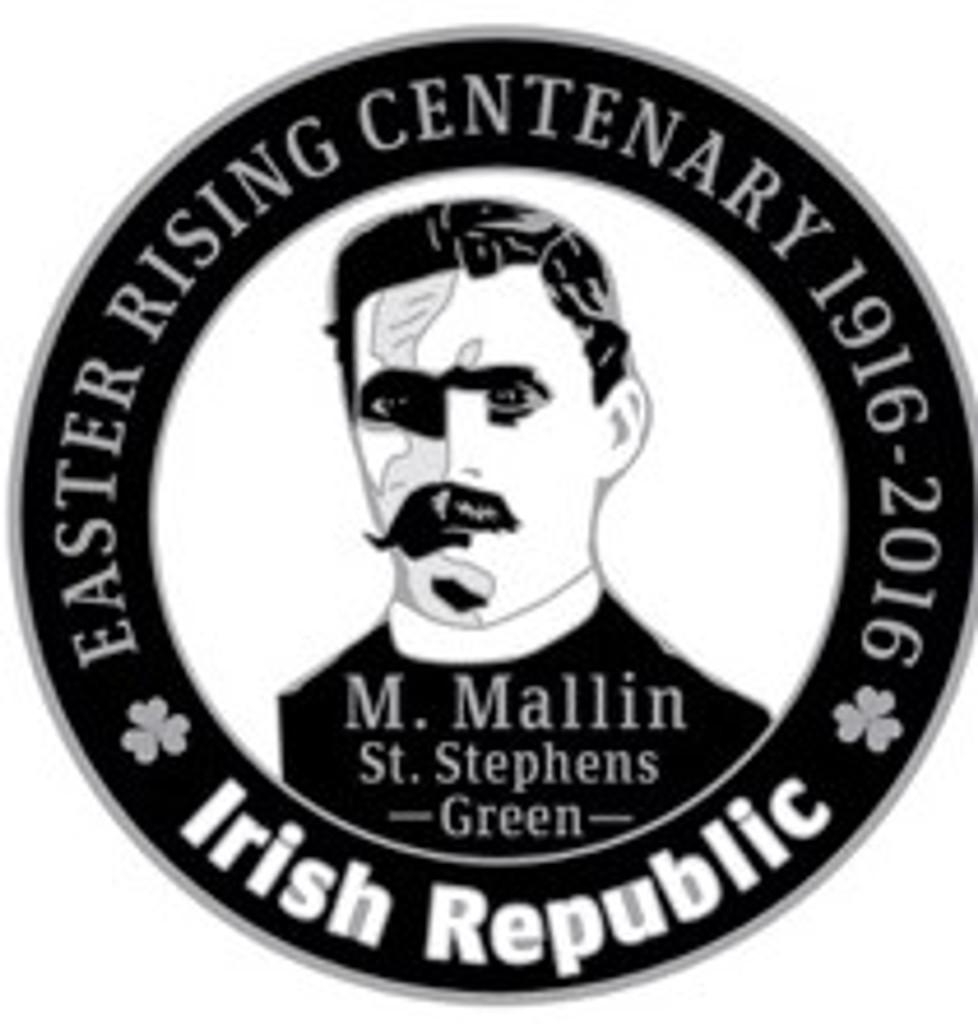 Michael Mallin 916 Centenary Badge