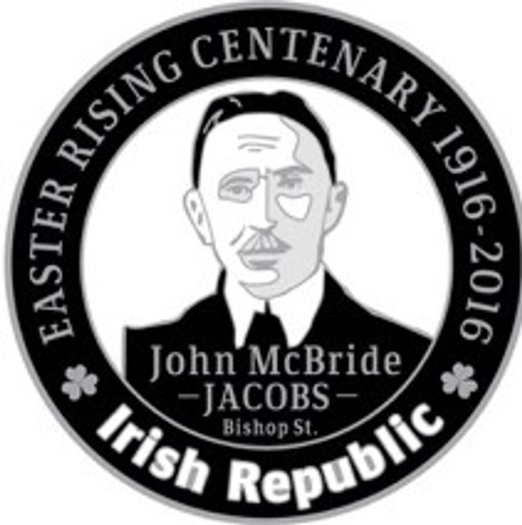 John MacBride 916 Centenary Badge