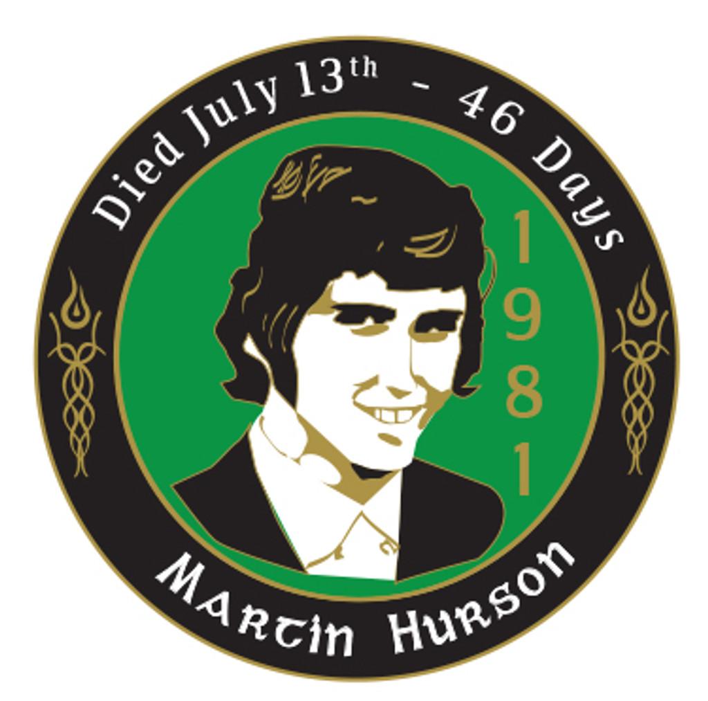 Martin Hurson Badge