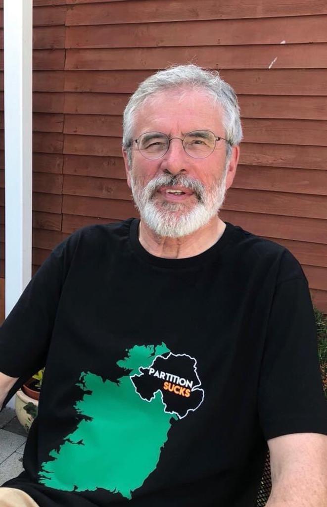 """Partition sucks. It doesn't merit celebration.""  - Gerry Adams"