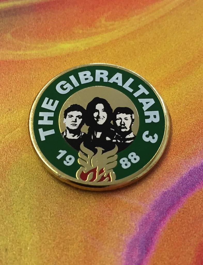 Gibraltar 3 Badge