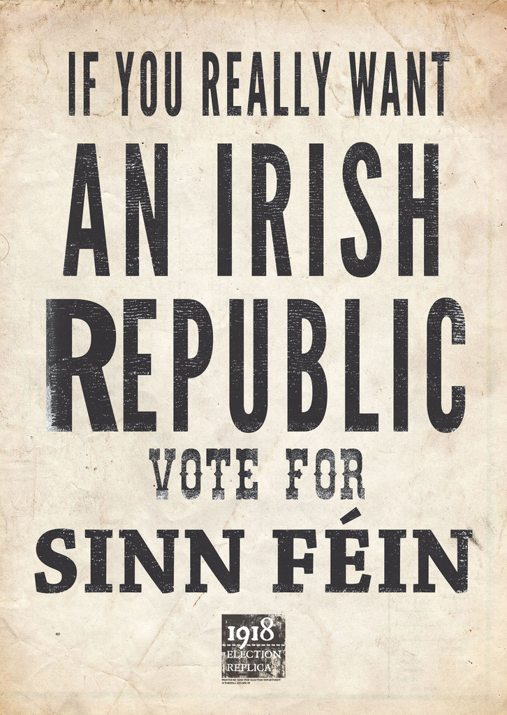 If You Really want an Irish Republic Poster