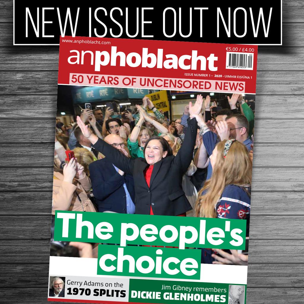 An Phoblacht magazine March 2020