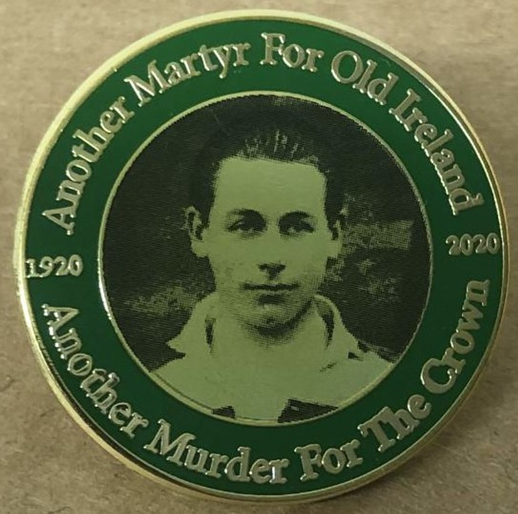 Kevin Barry 100th Anniversary Badge