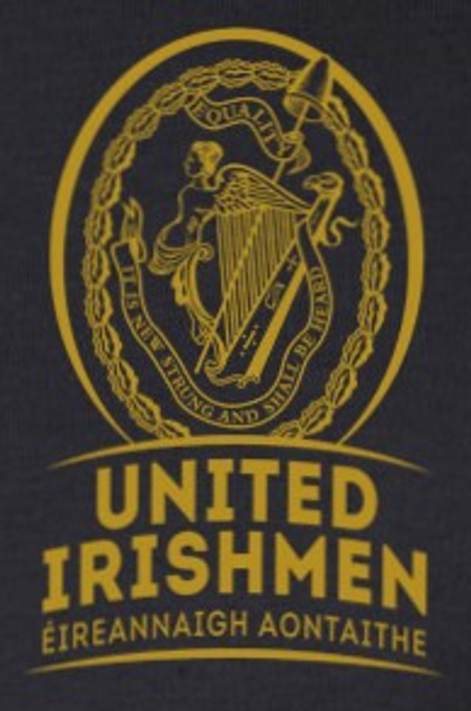 United Irishmen/Éireannaigh Aontaithe T-shirt