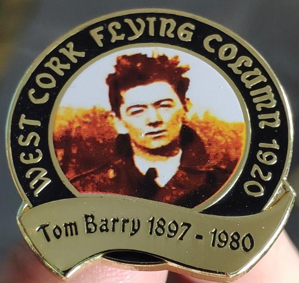 Tom Barry Flying Column Badge