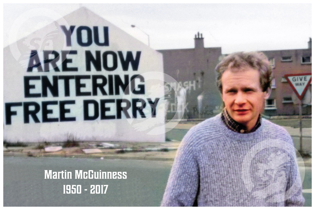 Martin McGuinness Photo - Leader, Comrade and Friend