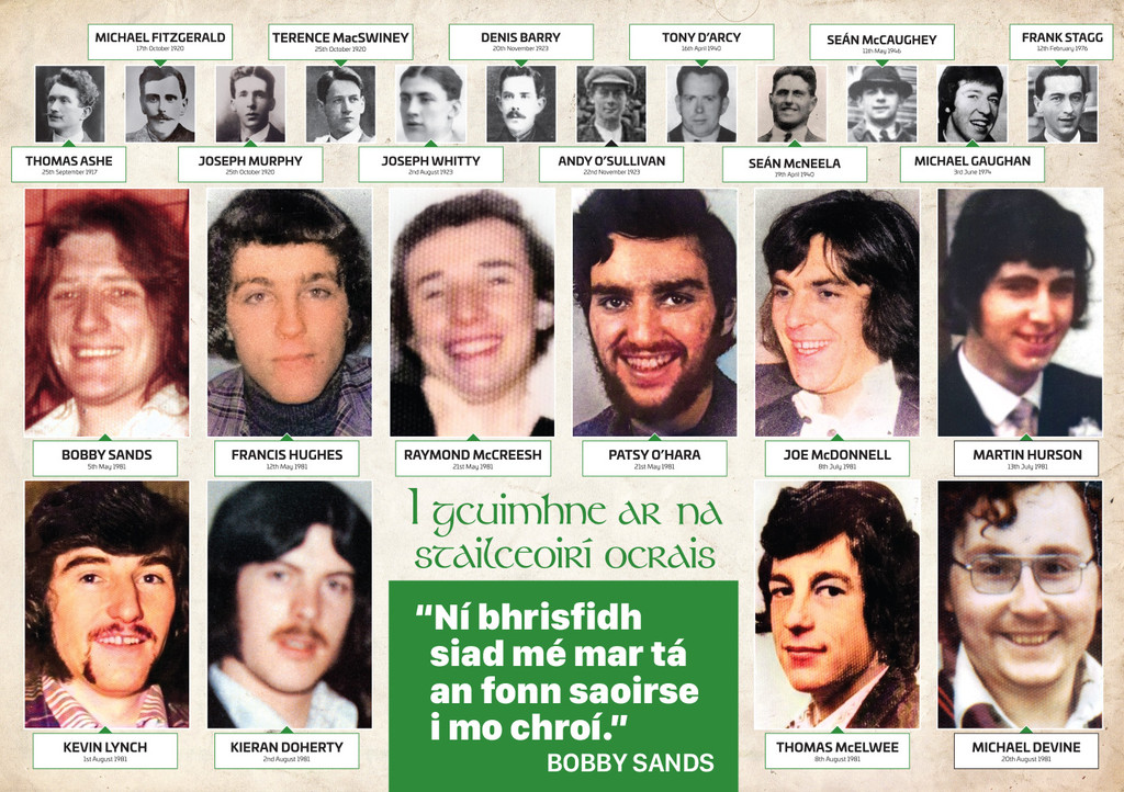 Republican Resistance Calendar 2021  Féilire Poblachtánach 2021