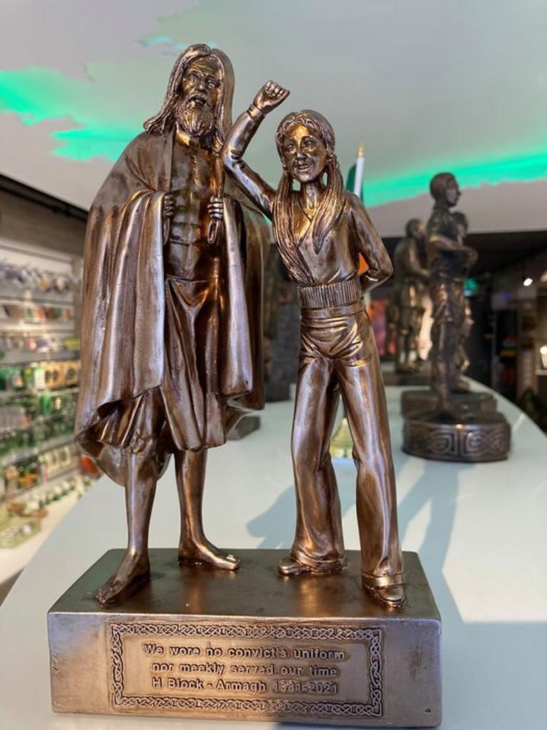 H Block Armagh 1981 – 2021 Commemorative Statue