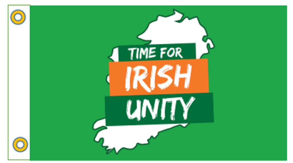 Time For Irish Unity FLag