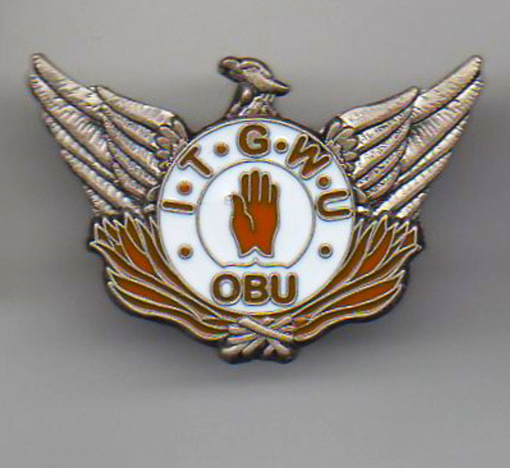 Irish Transport and General Workers Union badge