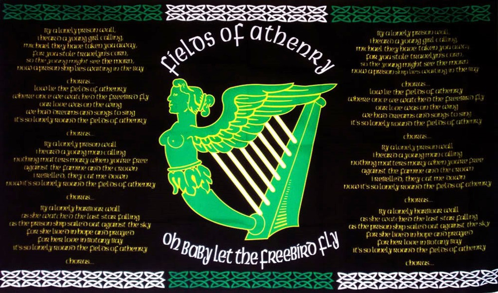 The Fields of Athenry flag