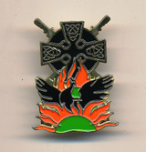 Loughgall Martyrs Rising Phoenix Badge