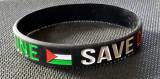 Free Palestine-Save GAZA Wristband