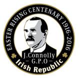 James Connolly 1916 Centenary  Badge