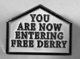 Free Derry Badge