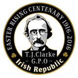Thomas J. Clarke 1916 Centenary Badge