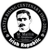 Michael Mallin 916 Centenary Badge