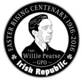 William Pearse 1916 Centenary Badge