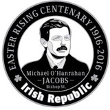 Michael O'Hanrahan 916 Centenary Badge