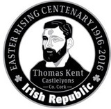 Thomas Kent 916 Centenary Badge
