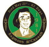 Raymond McCreesh Badge