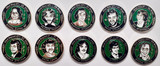 1981 Hunger Strikers Badges: Full Set