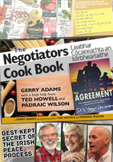 The Negotiators Cookbook - Irish Volunteer Apron Bundle   -   Best Kept Secret of the Irish Peace Process