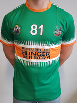 Remember The Hunger Strikers Jersey Green