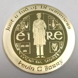 Kevin Barry Gold Coin