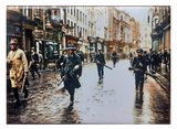 IRA Unit Patrol Grafton Street, Dublin, Ireland - 1922 Fridge Magnet