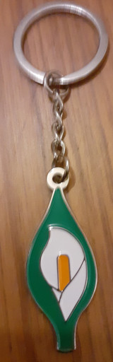 Easter Lily Keyring