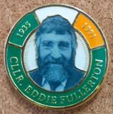 Cllr Eddie Fullerton 30th Anniversary Badge