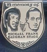 Michael Gaughan/Frank Stagg Badge