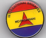 No Pasaran! - International Brigades Badge