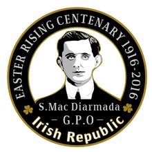 Seán Mac Diarmada 1916 Centenary Badge