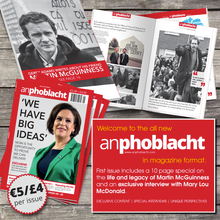 An Phoblacht - New Magazine Format