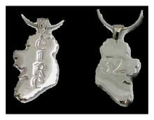 Ireland Éire 32 Silver Pendant
